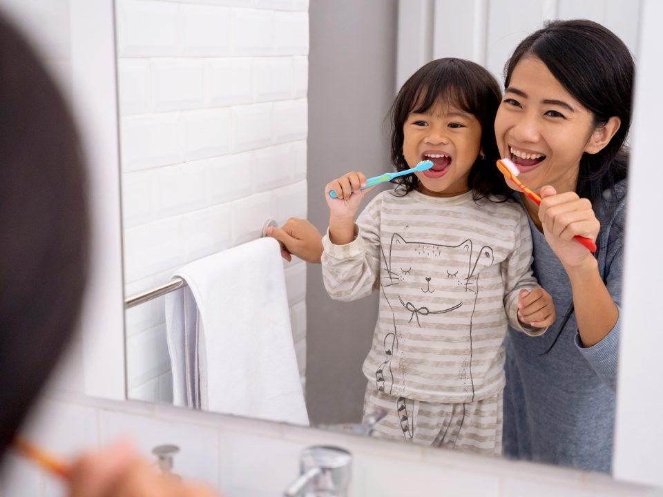 Anak susah menggosok gigi