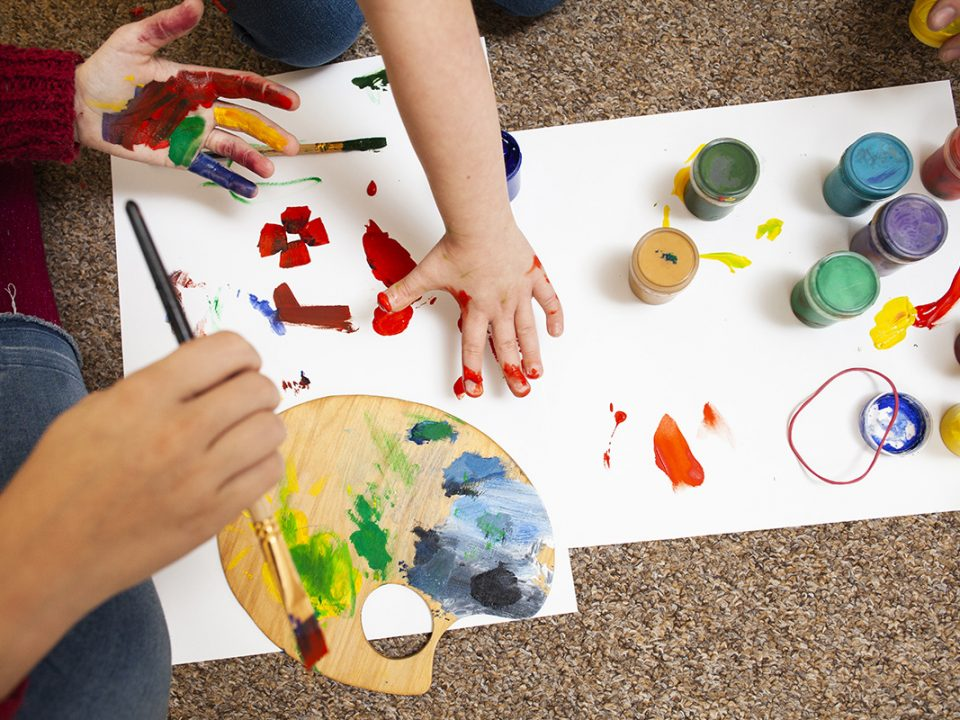Manfaat finger painting
