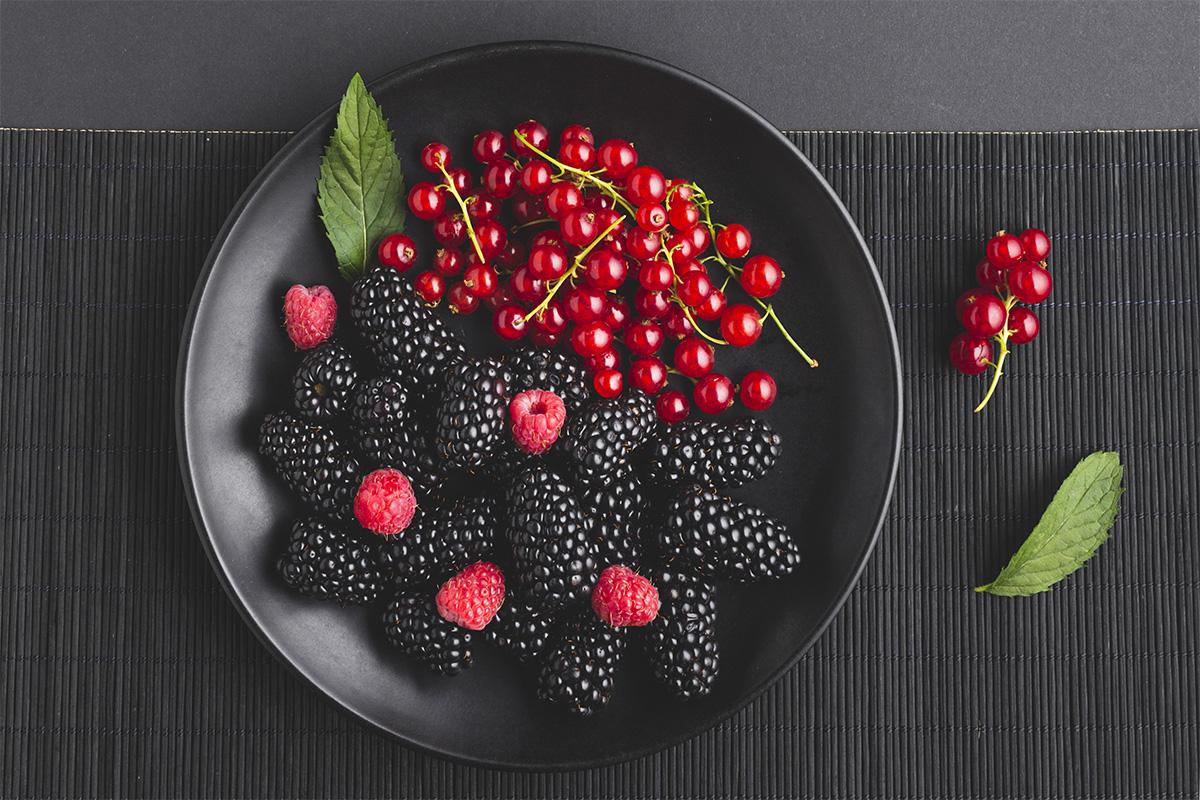 Buah berry kolagen