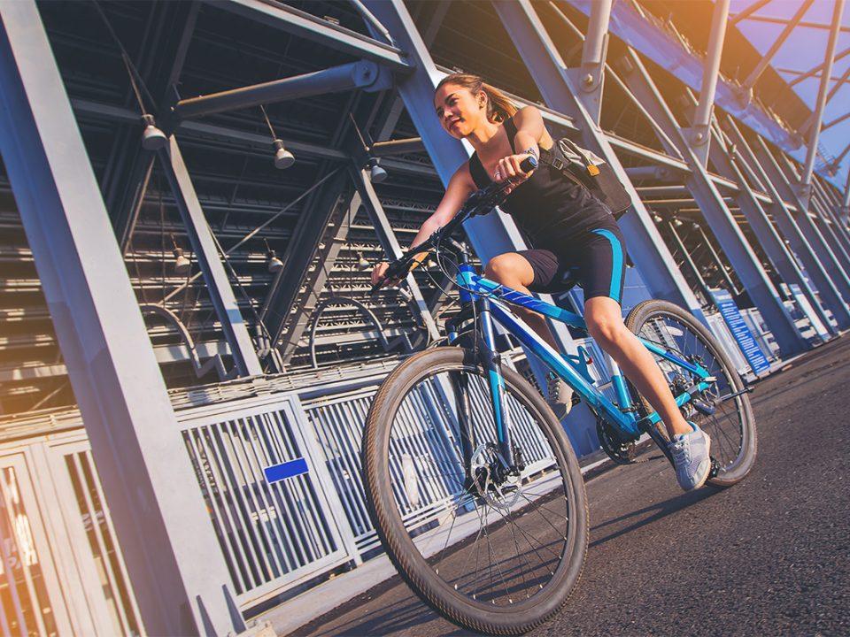 Sepeda olahraga yang bikin cepat tinggi