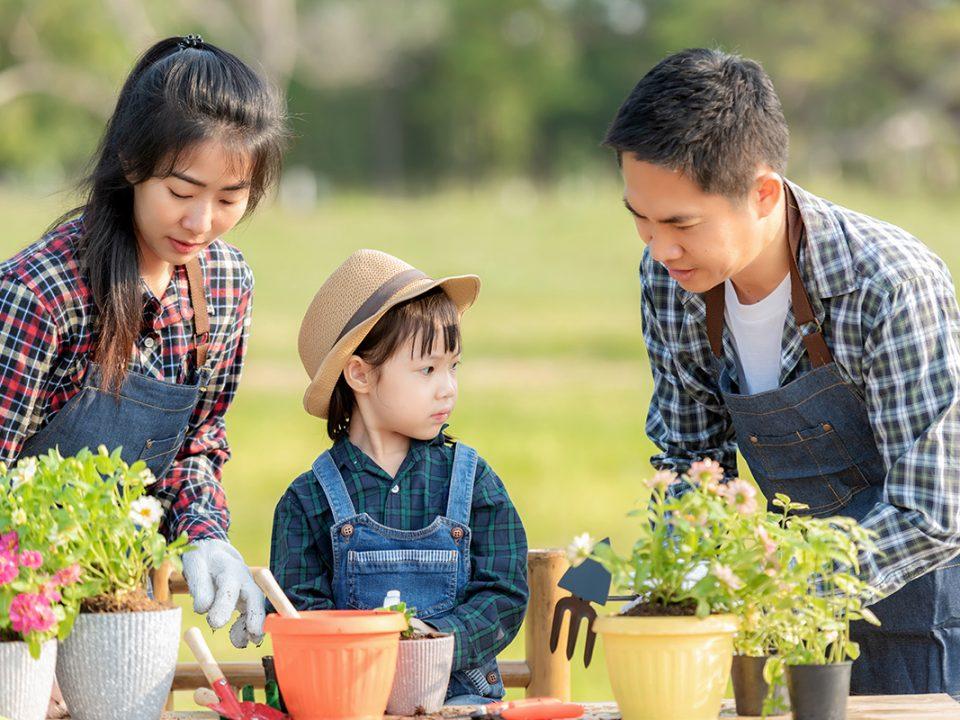 Manfaat berkebun pada anak