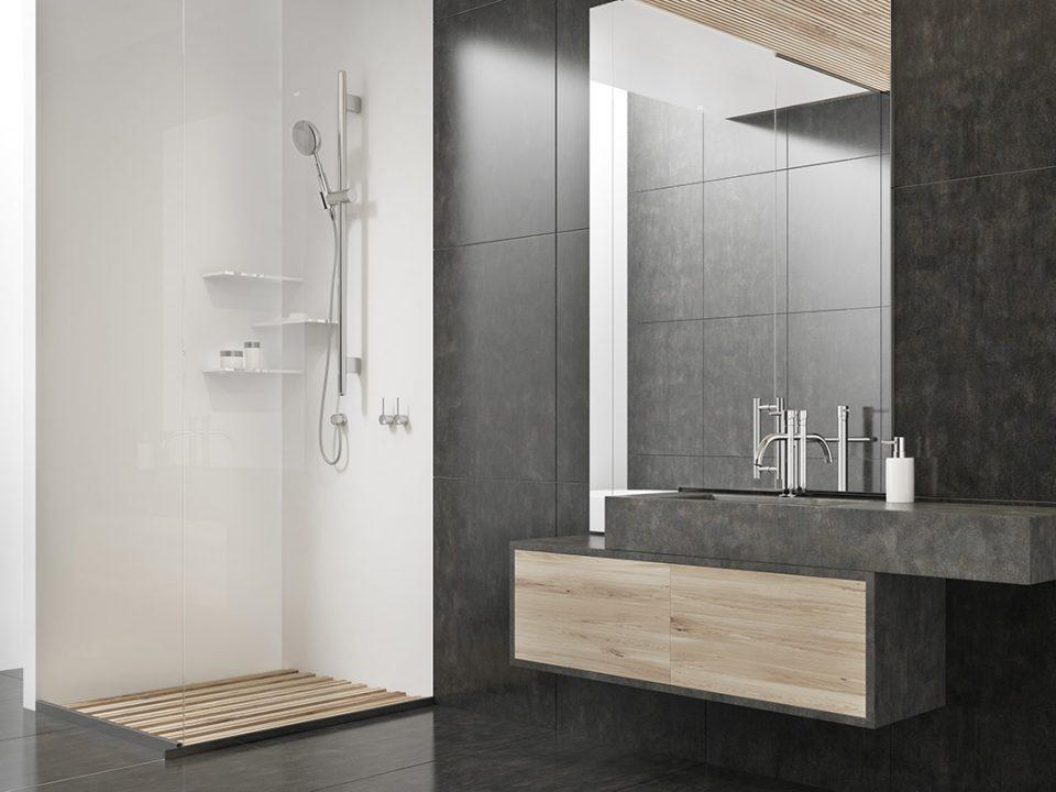 Tips kamar mandi minimalis tampak luas
