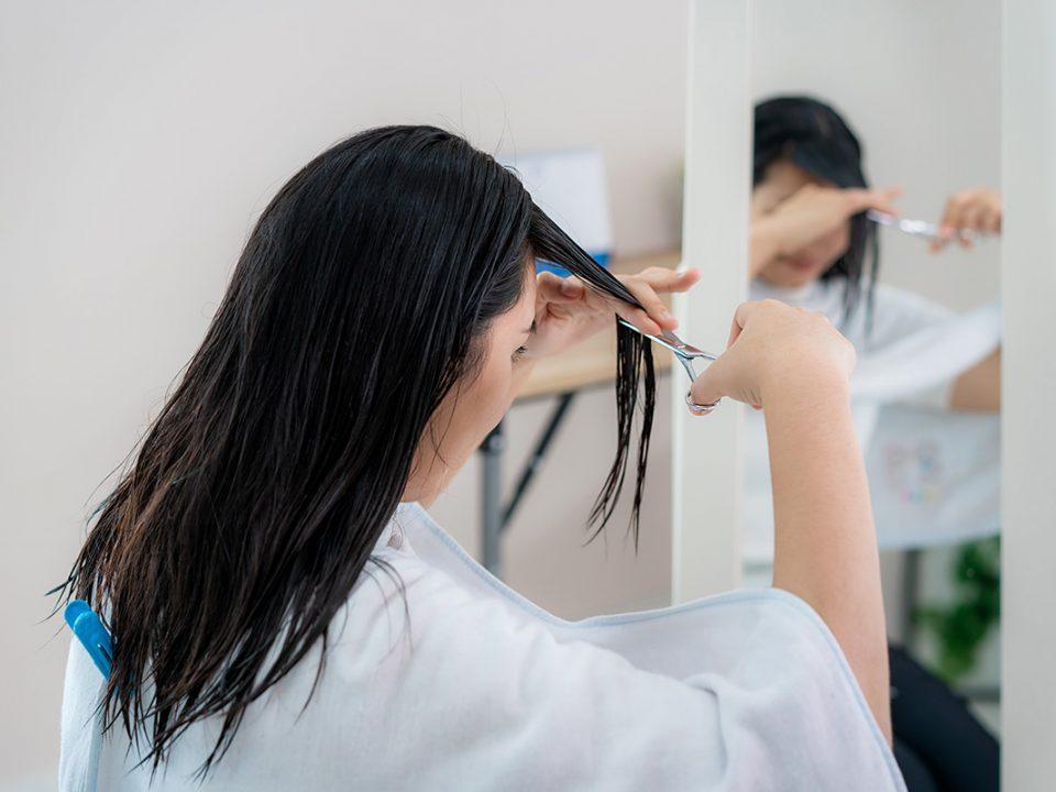 Cara potong rambut sendiri di rumah