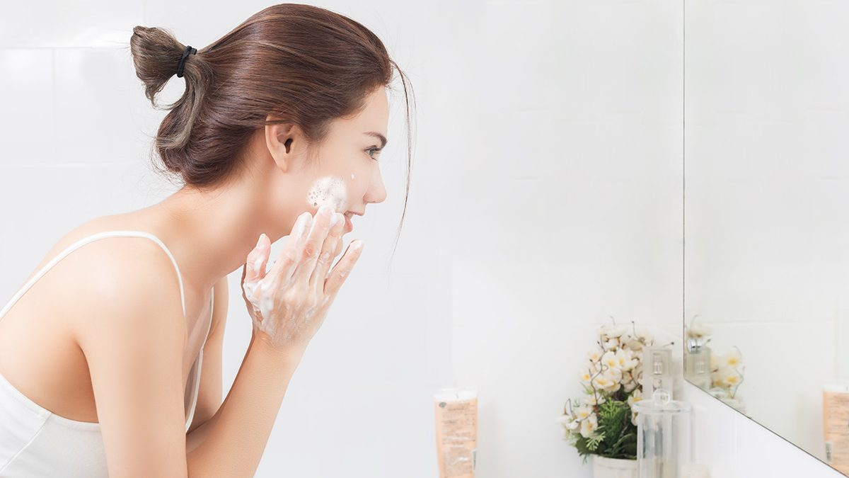 Kesalahan mencuci muka