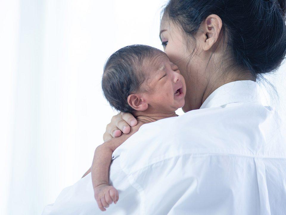 Tanda bayi stres