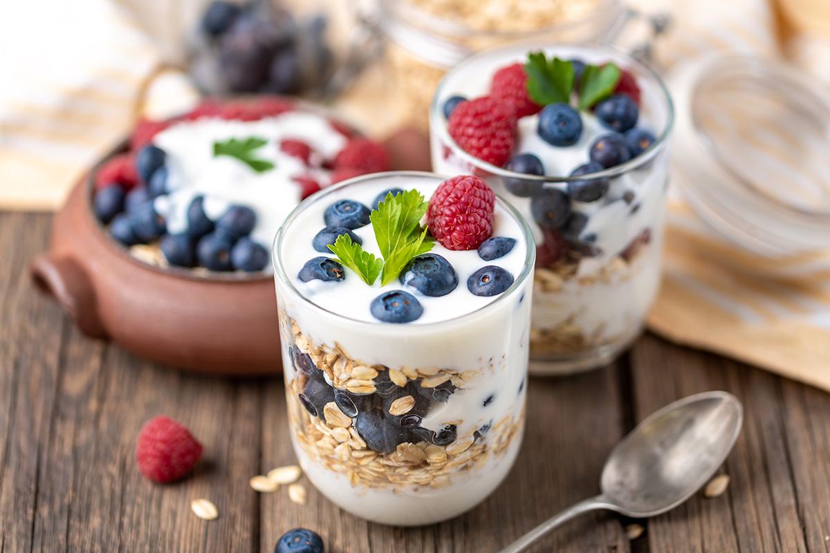 Yoghurt sarapan untuk diet