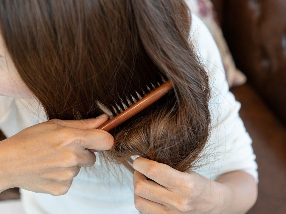 cara rambut tidak mengembang