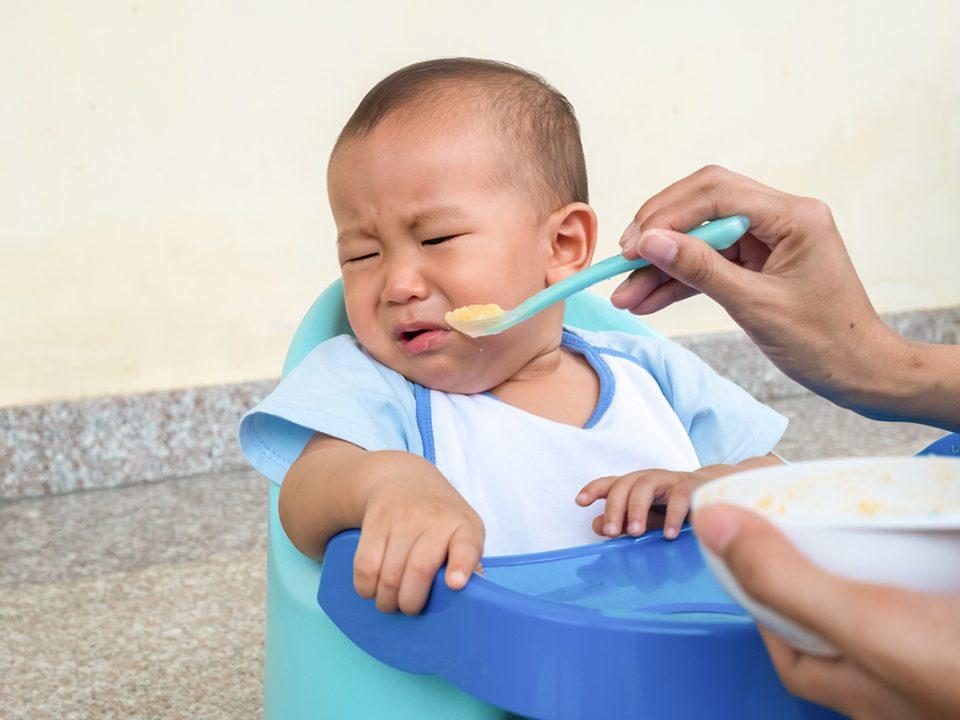 Bayi tidak mau makan
