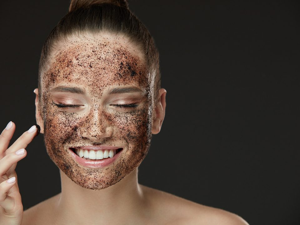 scrub wajah