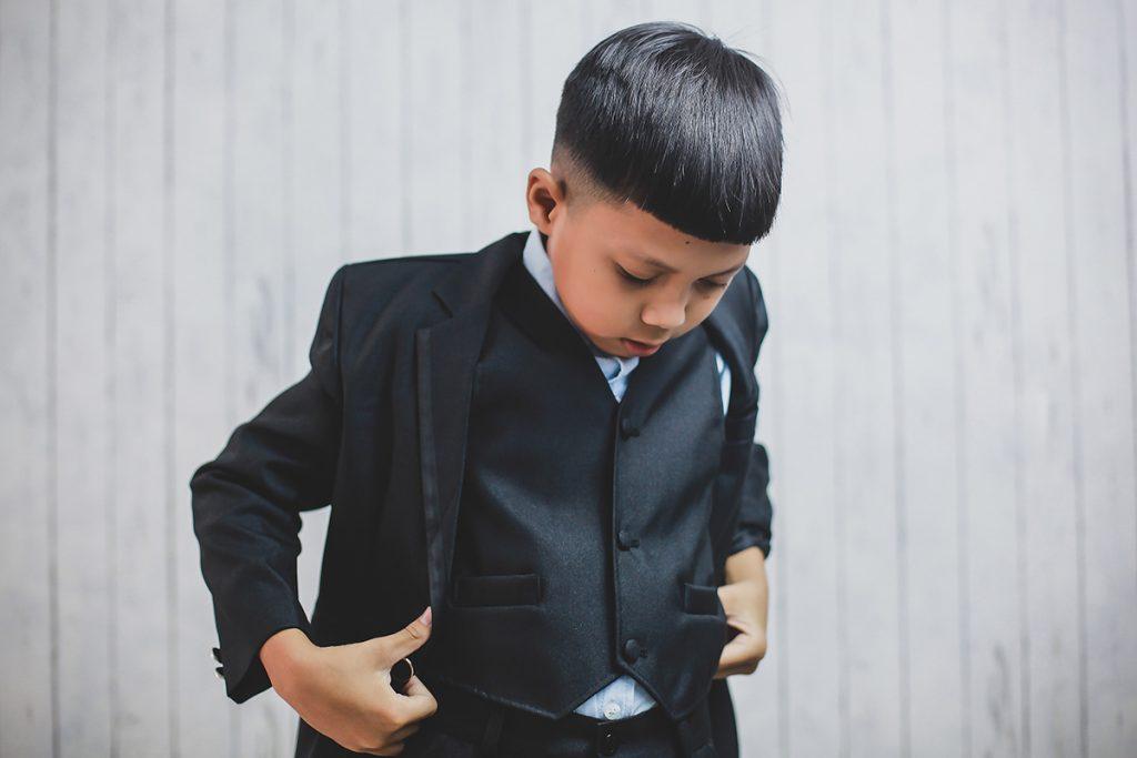 5 Model Rambut Anak Cowok, Stylish Sesuai Usia - Berkeluarga