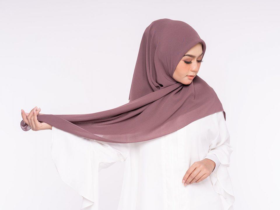Warna hijab kekinian