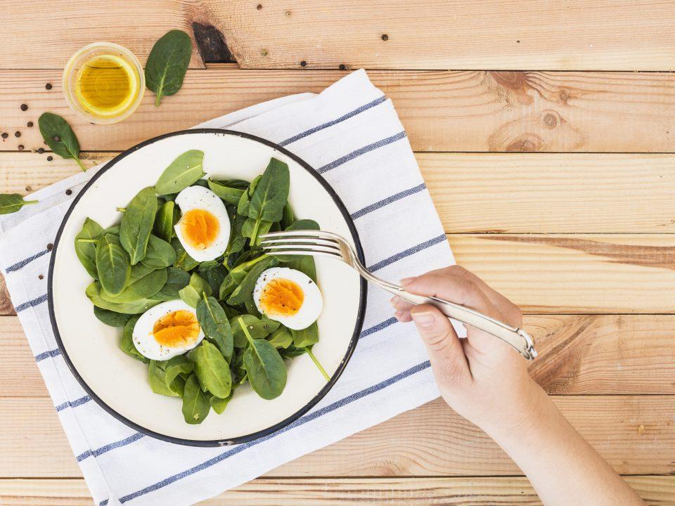 Sarapan untuk diet telur