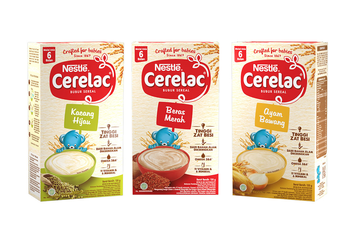 Bubur Nestle Cerelac