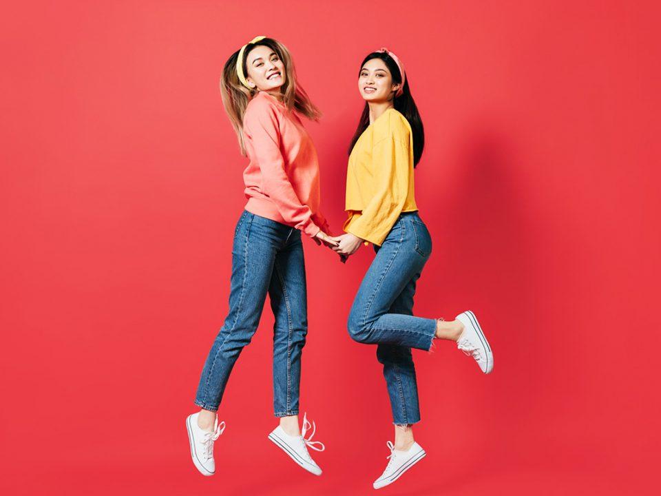 Jeans sesuai bentuk tubuh