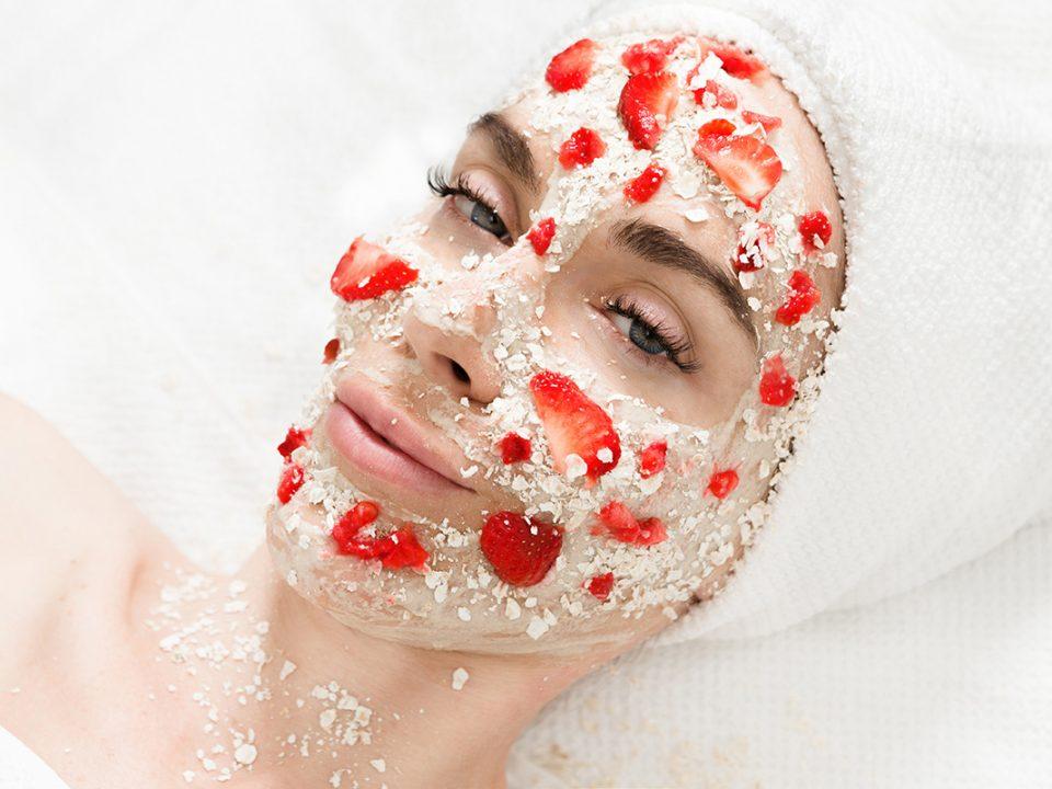 Manfaat masker oatmeal