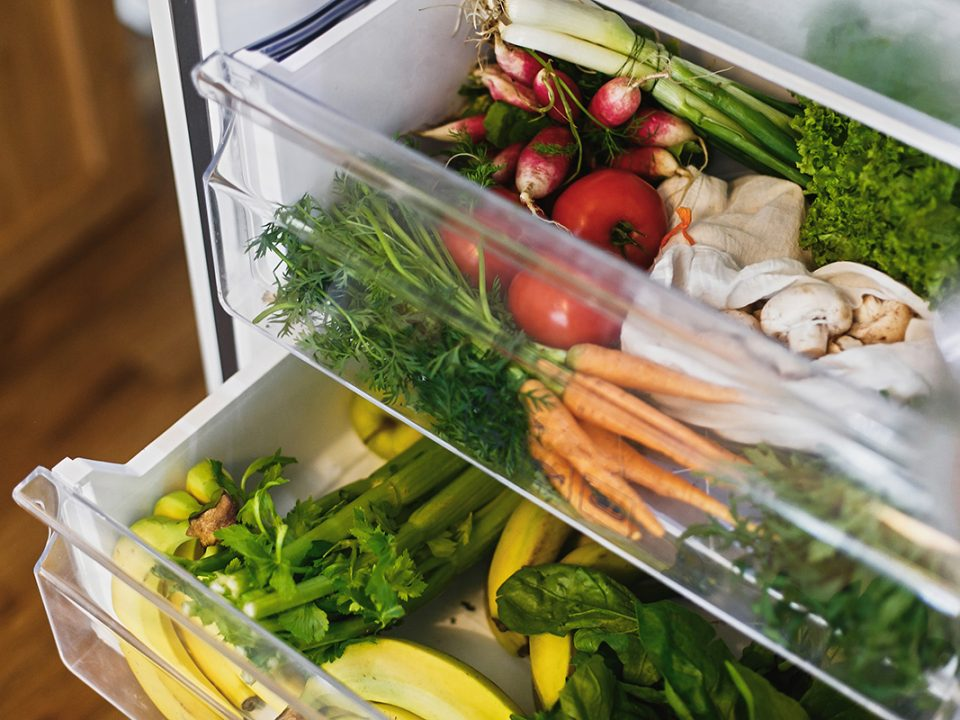 Menyimpan Sayuran
