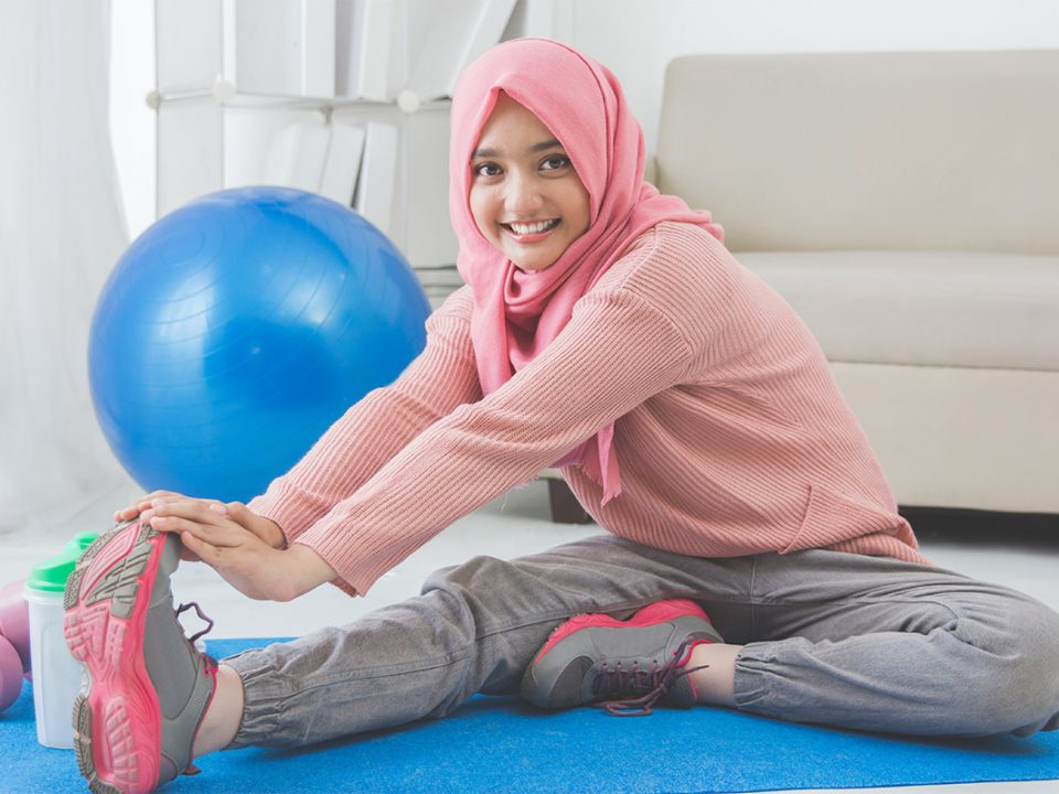 Outfit olahraga hijab