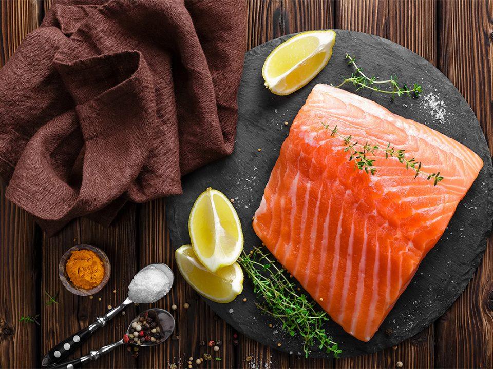 Ikan salmon tinggi vitamin D