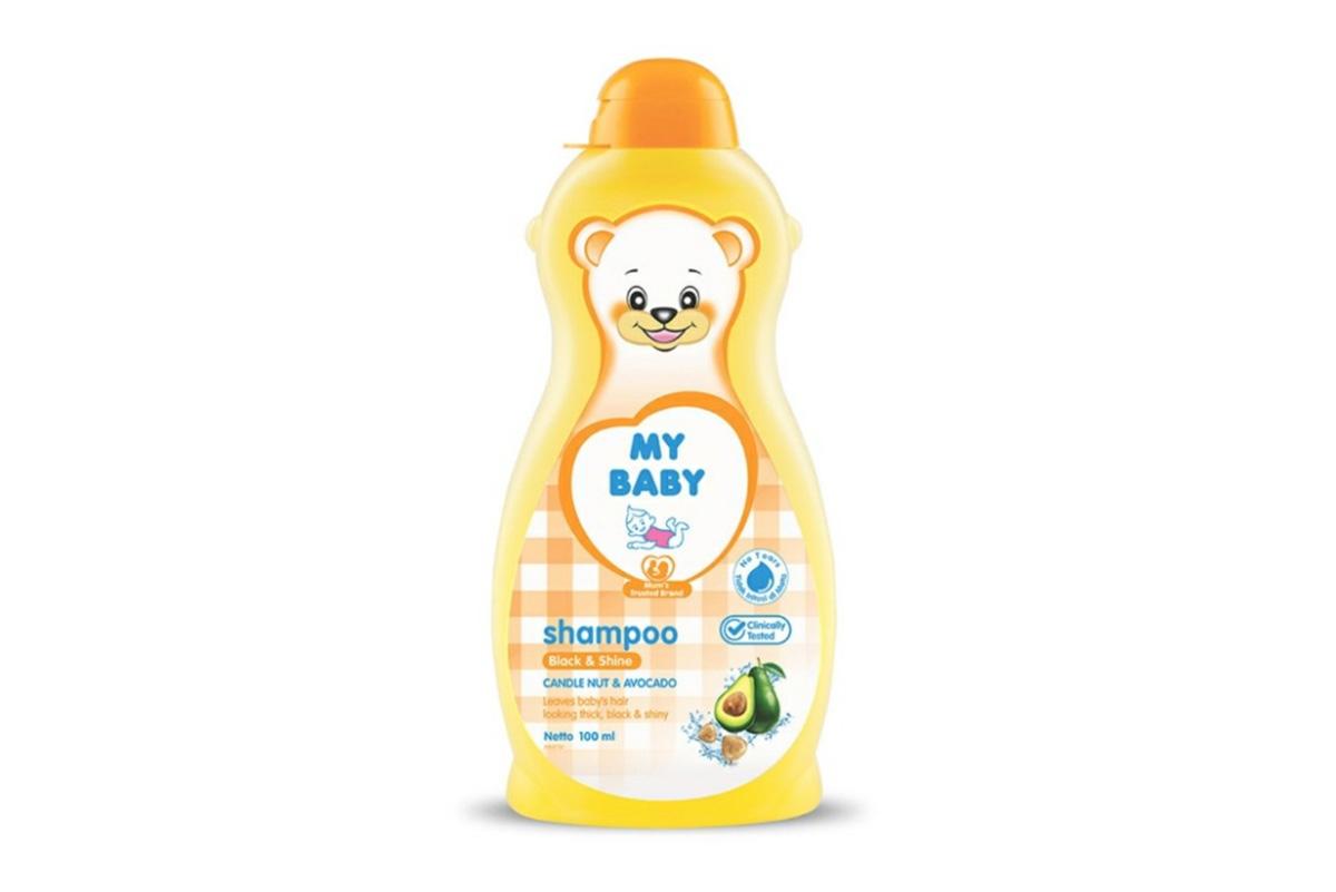 Sampo Bayi My Baby Black and Shine Shampoo