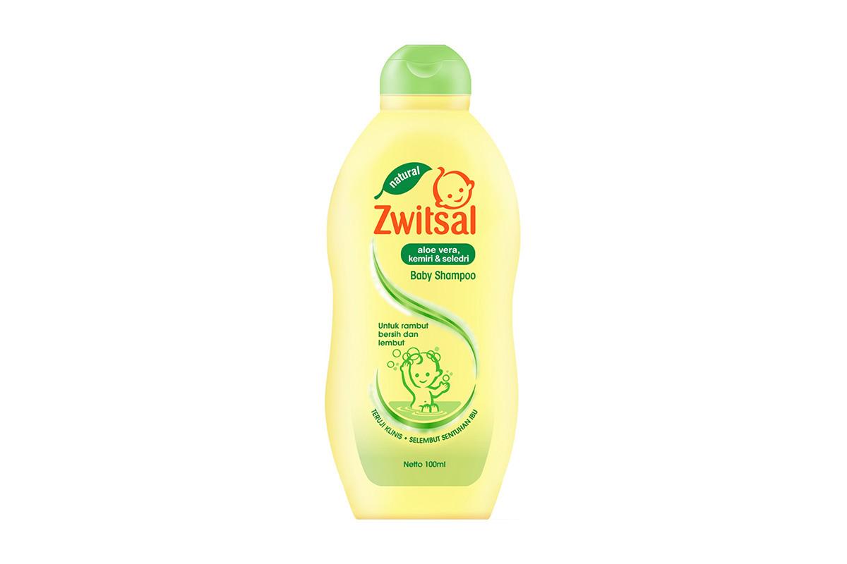 Sampo Bayi Zwitsal Natural Baby Shampoo