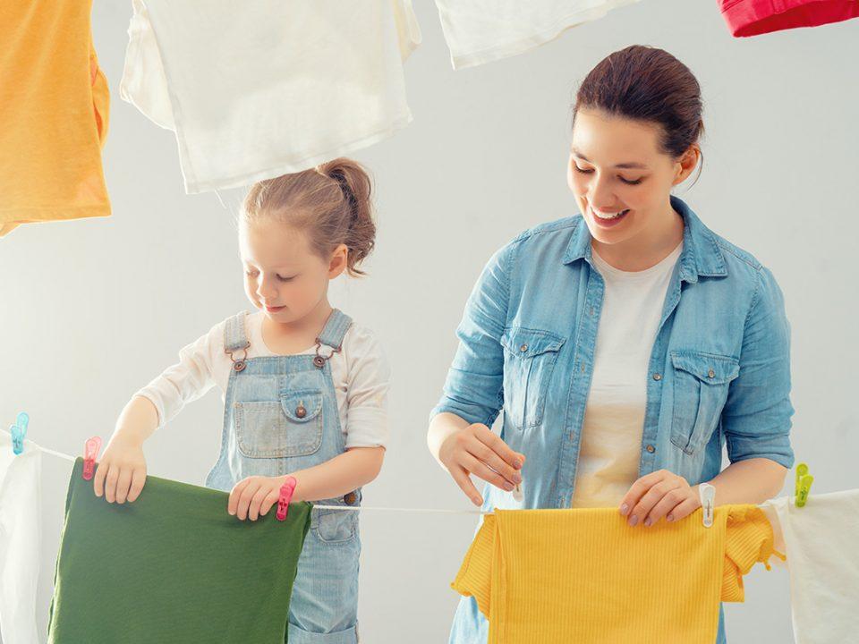 Mengembalikan Warna Baju