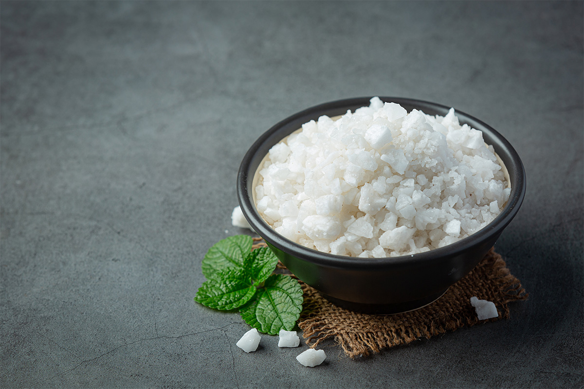 Garam pengawet Makanan Alami