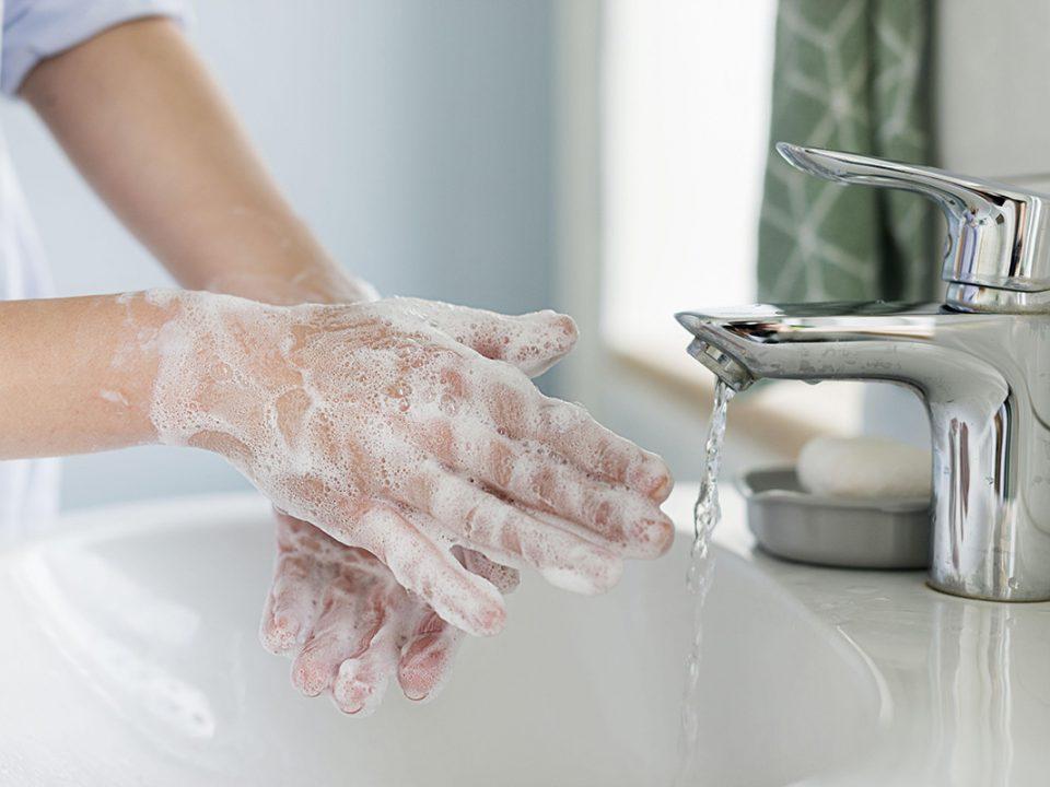 Cuci Tangan Yang Benar